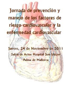 Jornada de Prevenció i Maneig del risc Cardiovascular i la Malaltia Cardiovascular