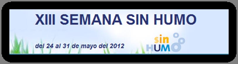 Setmana sense fum  del 24 al 31 de maig de 2012
