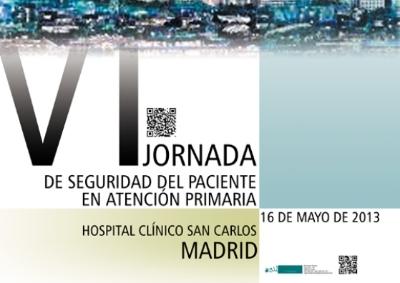 VI Jornada de Seguretat del Pacient en Atenció Primària