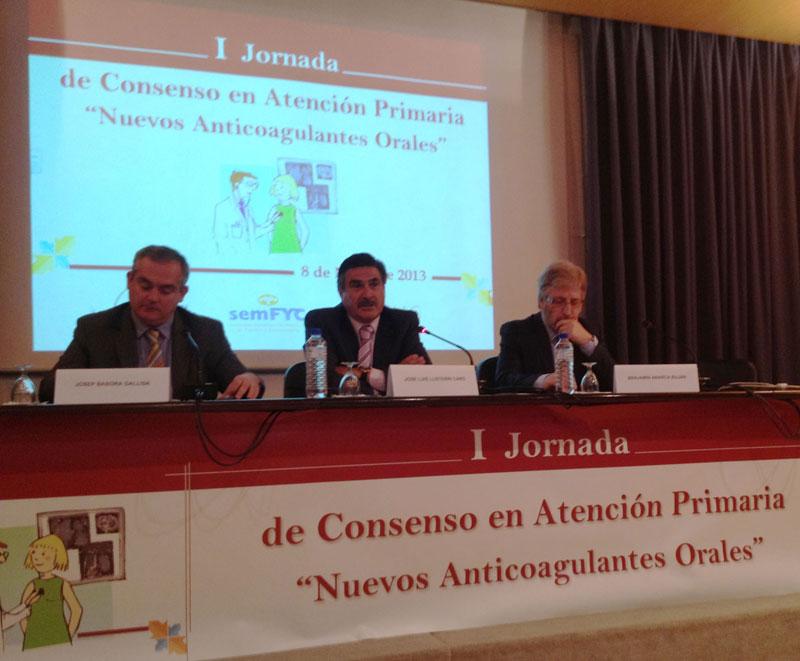 I Jornada de Consens en Atenció Primària sobre els nous anticoagulants